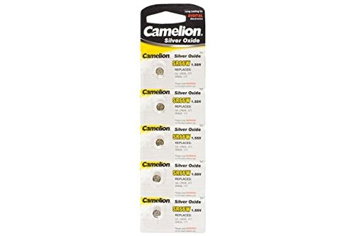 10 x SR66W Camelion Silver Oxide Button Batteries (LR626, 377 & SR626SW)
