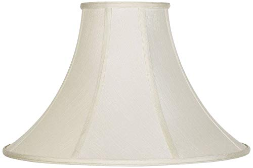 Creme Bell Lamp Shade 7x20x13.75 (Spider) - Imperial Shade