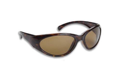 Fisherman Eyewear 14 Fly Original Polarized Sunglasses (Tortoise Frame, Brown - Fly Sun Glasses Fishing