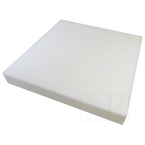 "Mybecca 0.5"" x 24"" x 24"" Upholstery Seat Cushion Medium Firm"