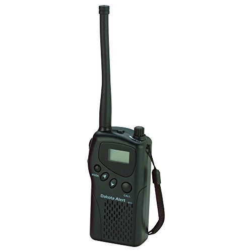 Dakota Alert M538-HT MURS Wireless VHF Transceiver - Handheld 2-Way Radio License Free - Multi Use Radio Service