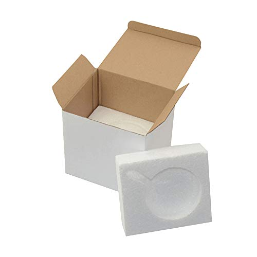 Gift Mug Box for 11oz. Mugs - Cardboard Box with Foam Supports Case of 45
