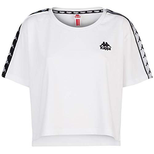 Kappa T-Shirt Donna S Bianco 03wgq0 Primavera Estate ()