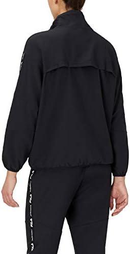 Fila womens Demi Half Zip Stretch Woven Windbreaker