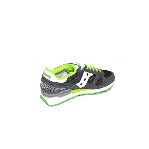 Saucony Shadow Original - Zapatillas de Running para Asfalto Unisex adulto Multicolore (Charcoal)