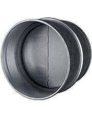 Draft Blocker - Backdraft Damper Duct - Draft Stopper - Backflow Preventer - Inline Fan Vent - Vent Deflector 4 Inch