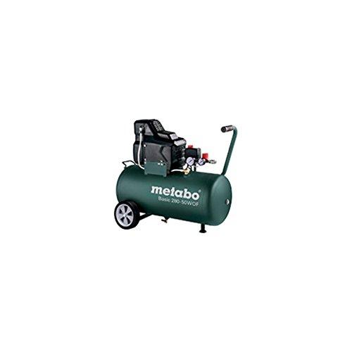 gewerbliche Anwendungen Druckluftkompressor // Kompressor Basic 280-50 W OF 8 bar /ölloser Kolbenverdichter und guter Kaltstart leistungsstark und robust f/ür einfache F/ülleistung: 140 l//min