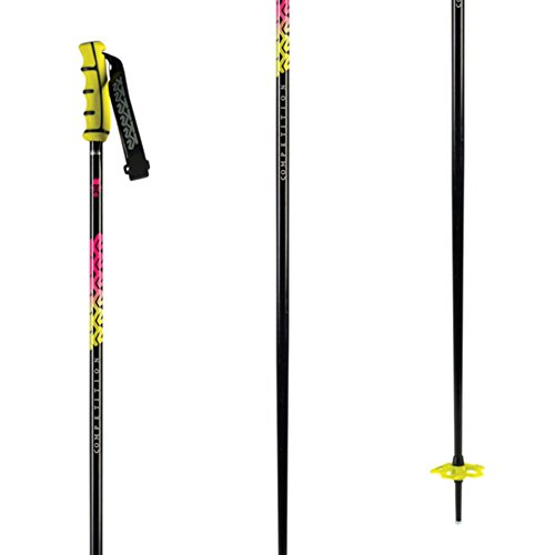 K2 Comp 18 Ski Poles Black 44in (K2 Ski Pole Baskets)