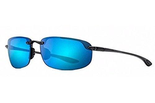 Maui Jim - Ho'okipa - Smoke Grey Frame- Blue Hawaii Polarized Lenses
