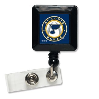 Wincraft NHL St. Louis Blues Retractable Badge Holder, - Id For Nhl Lanyards Badges