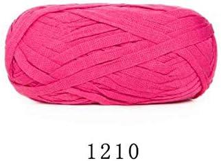 70M Hilados de lana plana Diy Lana de tejer para manta Hilo tejido Algodón Tela de ganchillo Manta tejida a mano 1210: Amazon.es: Hogar