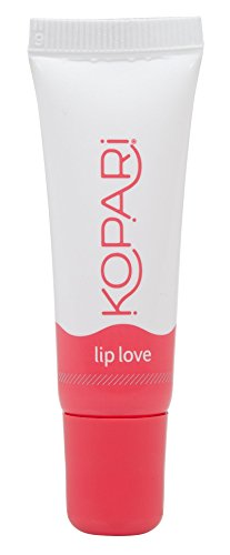 Kopari Coconut Lip Love - Hydrating and Moisturizing Coconut Oil, Vitamin E and Shea Butter Lip Gloss With 100% Organic Coconut Oil, Non GMO, Vegan, Cruelty Free, Paraben Free and Sulfate Free 0.33 Oz (Beauty Lip Gloss)