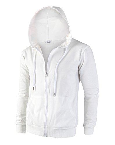 Mens White Jacket - 1
