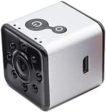 Support IR Night Vision Durable Color : Silver GuiPing SQ13 Ultra-Mini DV Pocket WiFi 1080P 30fps Digital Video Recorder Camera Camcorder with 30m Waterproof Case