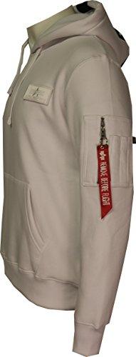 Sweat Homme shirt Alpha White Industries 1wqTS