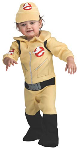 Baby Stay Puft (Ghostbusters Romper Costume, Beige, 6-12)