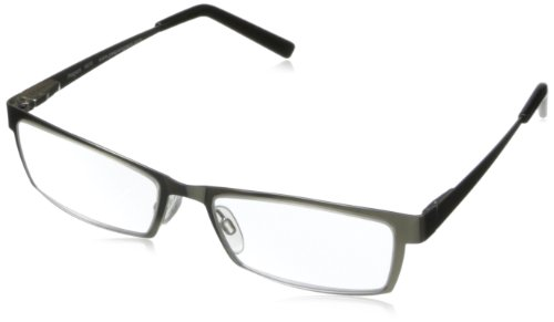 Peepers I Wayfarer Spy Square Reading Glasses,Silver,+3, 45 mm 3 (Spy Wayfarer)