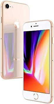 """iPhone 8 Apple Dourado com Tela de 4,7"""", 4G, 64 GB e Câmera de"""