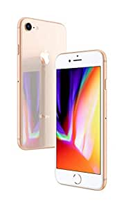 Apple MU6M2LL/A iPhone 8 with FaceTime - 64GB, Gold (Pack of 1)