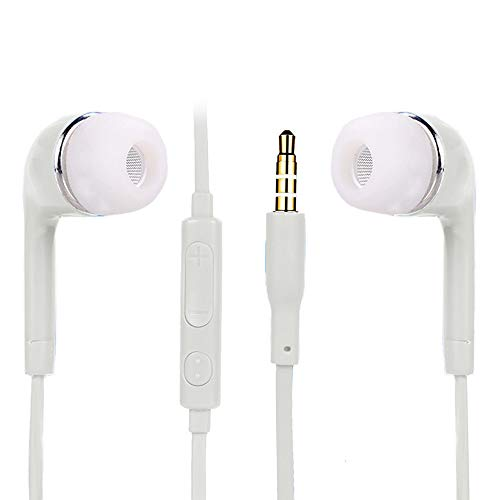 MChoice 3.5mm in-Ear Stereo Earbud Headphone Earphone Headset with MIC for Samsung ()