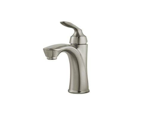 Pfister LG42-CB1K Avalon Single Control Bath Faucet, Brushed Nickel, 1.2 GPM ()