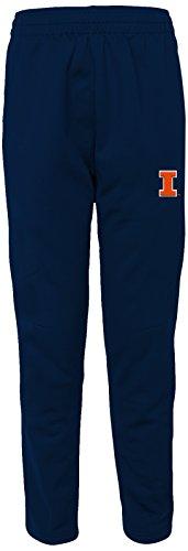 Outerstuff NCAA Illinois Illini Adult Men First String Field Pant, Medium, Dark Navy ()