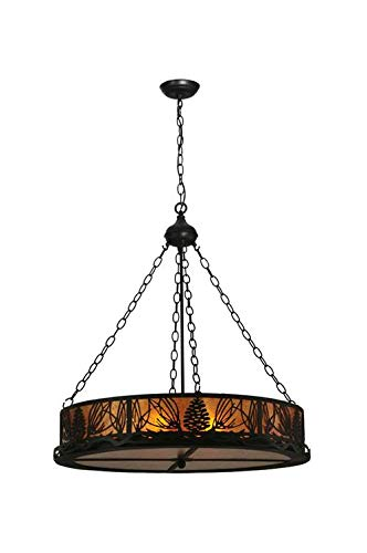 (16 in. Mountain Pine Inverted Pendant)