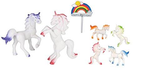 oasis-supply-unicorn-playset-cake-topper-kit-7-piece-set