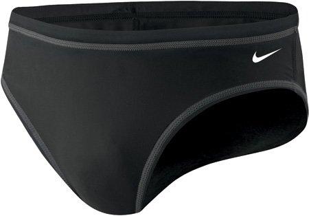 Nike Swim TDSS0039 Mens Solids Brief, Black-32