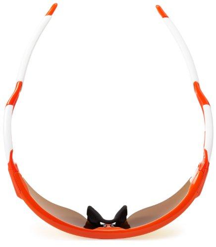 19 Vented Iridium Iridium Blood Fire Lunettes Vented Polarized Orange Black Oakley Radarlock OO9181 PwnzqTg