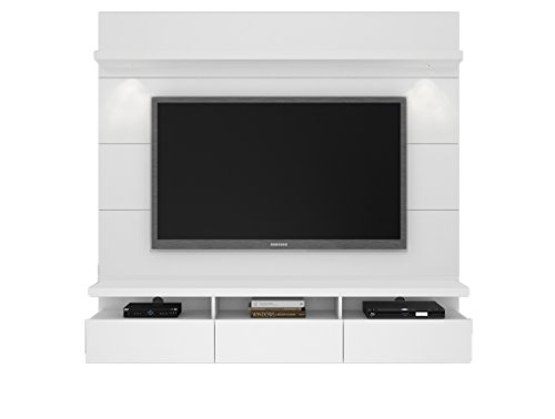 - Manhattan Comfort Cabrini Theater Panel 1.8 Collection TV Stand with Drawers Floating Wall Theater Entertainment Center, 71.25