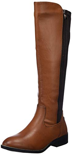 camel marron bottes hautes Xti femmes pour 48441 x0w7Y0qfA