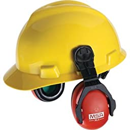 MSA XLS Cap Model earmuffs NRR - 23