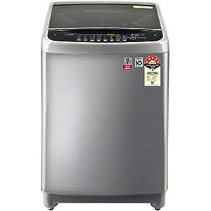 LG 8.0 Kg 5 Star Smart Inverter Fully-Automatic Top Loading Washing Machine (T80SJSS1Z, Free Silver, Jet Spray+)