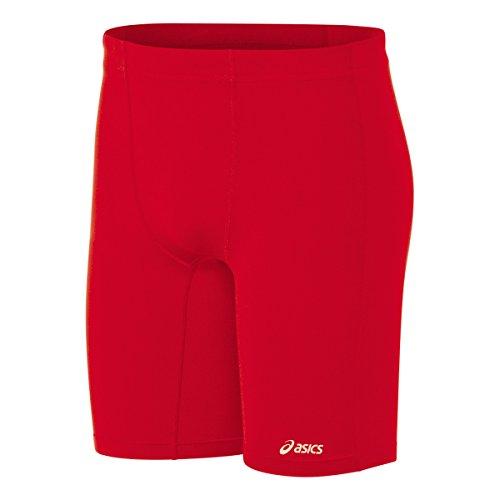 ASICS Men's Aptitude Field Shorts, Red, X-Large