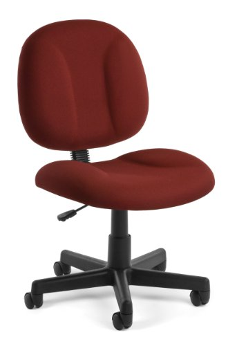 OFM 105-803''Superchair Task Chair with Wine Fabric by OFM