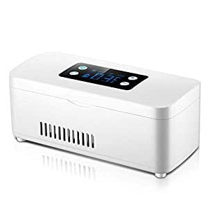 MGZDH Refrigerador de insulina - Pantalla Digital LCD Recordatorio ...