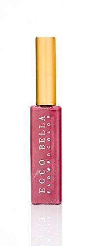 Bella Ecco Vitamins (FlowerColor Good For You Gloss Mini Pleasure Frosted True Pink Ecco Bella 0.14 oz Lipgloss)