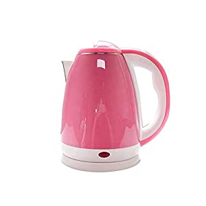 QUEDOZ – Stailness Steel 1.8 Litre Electric Kettle 360-Degree Rotating Design 1500 Watt Auto Switch Off for Making Tea…