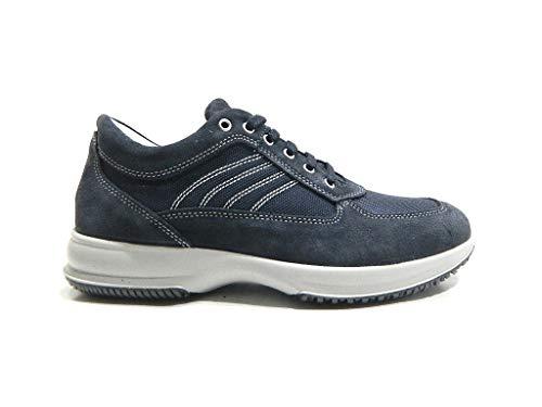 Imac Sneaker Uomo Casual Sportiva Blu, 39 MainApps