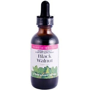 Eclectic Institute Inc Black Walnut, 2 Oz with Alcohol by Eclectic Institute Eclectic Institute Black Walnut