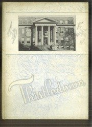 The 1955 Thistledown - Senior Class Yearbook from the Winchester-Thurston School, Pittsburgh, PA