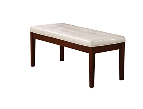 ACME Furniture 77055 Britney White Pu Bench by Acme Furniture