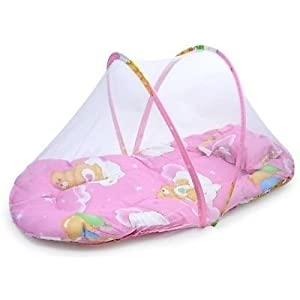 MAYUMI® New Born Baby Bedding Sets with Mosquito Net | Mattresses for Babies | Newborn Infant Sleeping Bed | Portable…