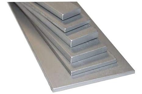 100cm Flachstahl verzinkt S235JR ST37 L/änge 1000mm von 30x5mm bis 100x10mm 30x5mm