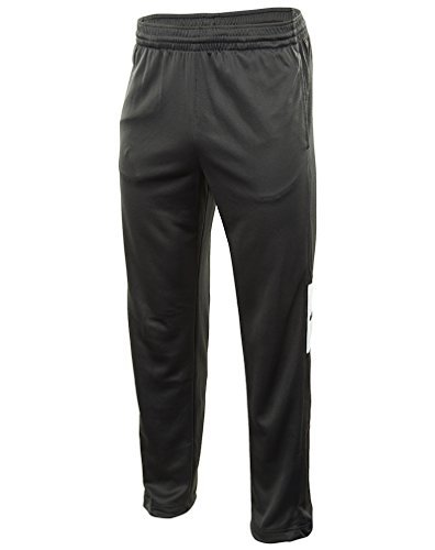 New Nike Men's Rivalry Basketball Pants Anthracite/Anthra...