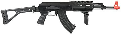 Lancer Tactical LT-16F AK-47 AEG Metal Gear with Side Folding Stock 415-FPS