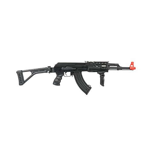 Lancer Tactical LT-16F AK-47 AEG Metal Gear with Side Folding Stock 415-FPS -
