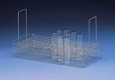 Labconco 4402101 Washer Rack Insert, Standard Bottom; 105 Tubes (20-24mm) by Labconco