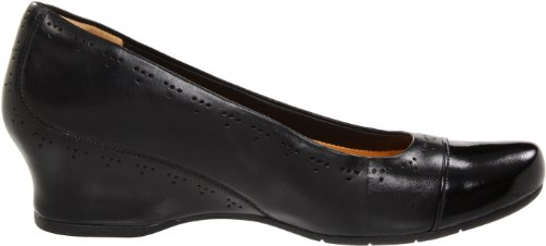 Clarks Womens Un.conditional Pump In Pelle Nera